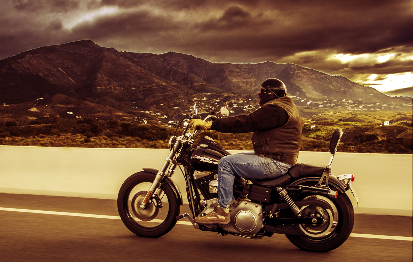 Harley-Davidson-Commercial photography